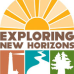 Exploring New Horizons logo